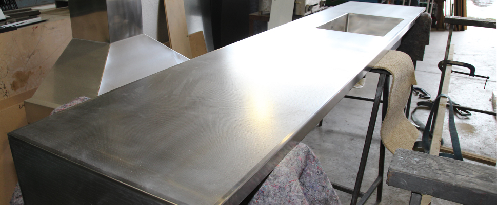 Stainless Bench
